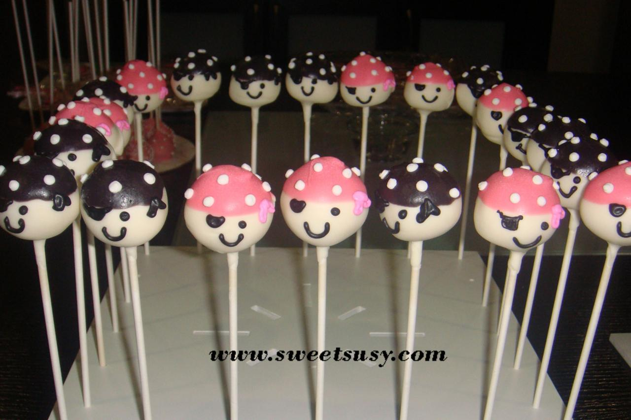 how to make pirate cake pops. Black Bedroom Furniture Sets. Home Design Ideas