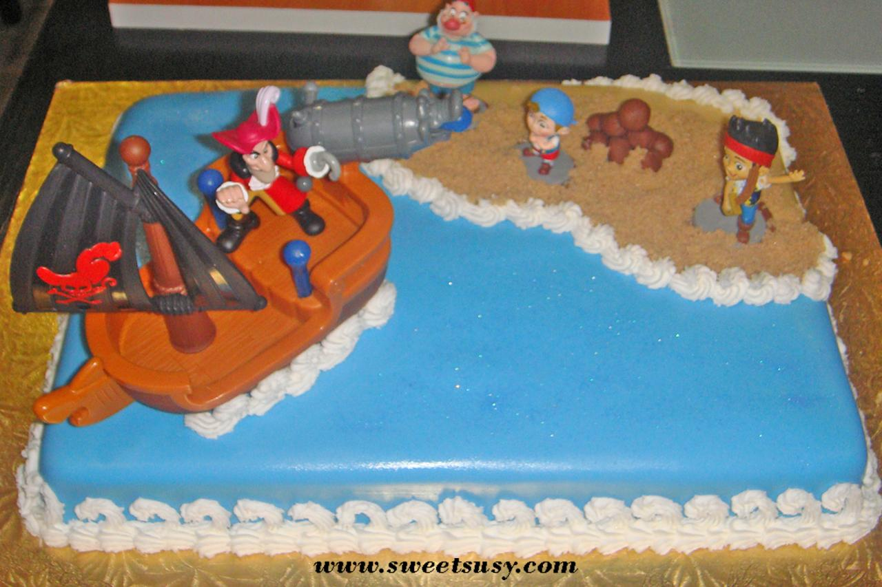 Jake And The Neverland Pirates Cake Walmart
