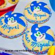 Sonic the Hedgehog Pinata Cookies