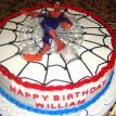 Spiderman Super Heroe Cake