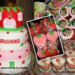 Strawberry Shortcake Birthday Party Combo