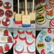 Super Heroes Birthday Party Combo