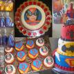 Super Heroes D Birthday Party Combo